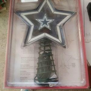 Dallas Cowboys Tree Top Star